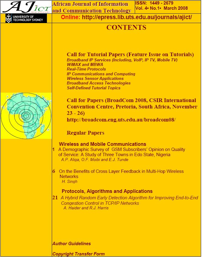 information technology journals