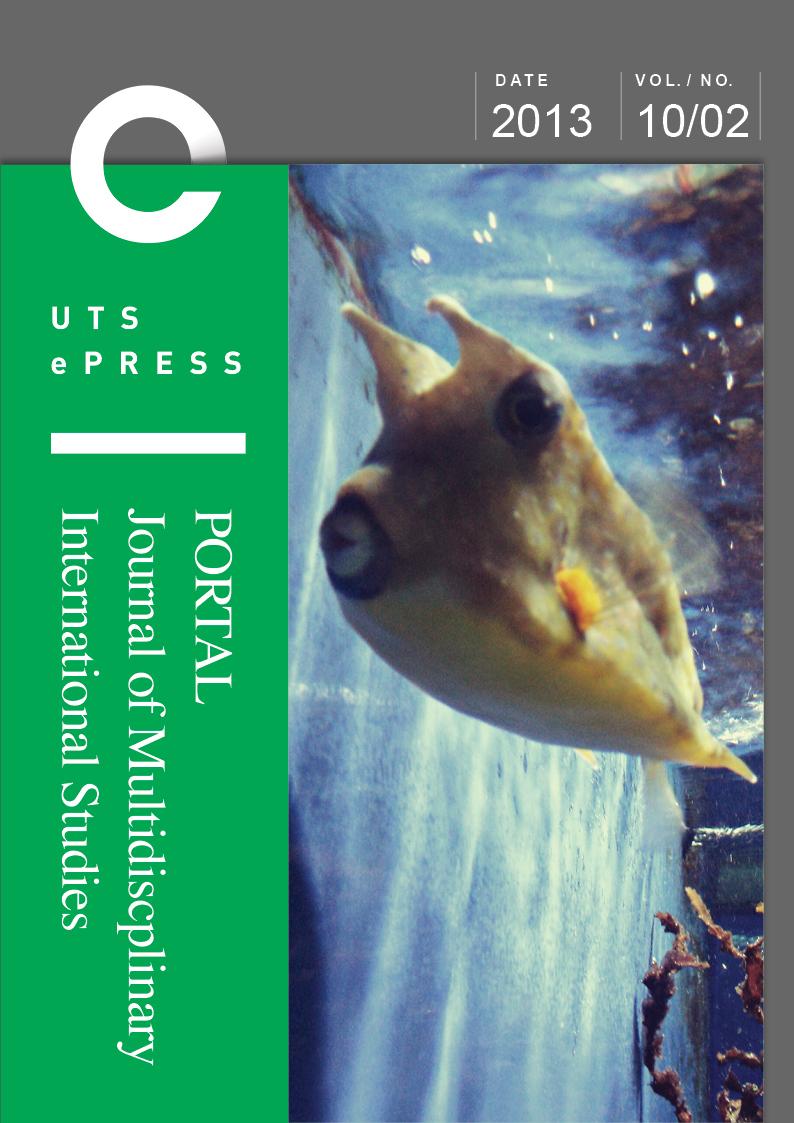 Vol 10, No 2 (2013): Edible Alterities: Perspectives from La Francophonie