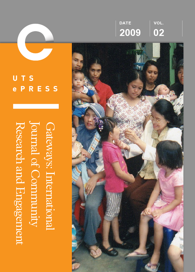Gateways Cover Vol 2 (2009)