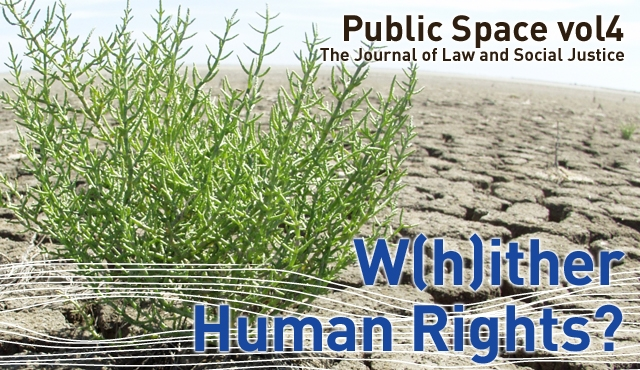 Public Space, Vol 4: W(h)ither Human Rights?