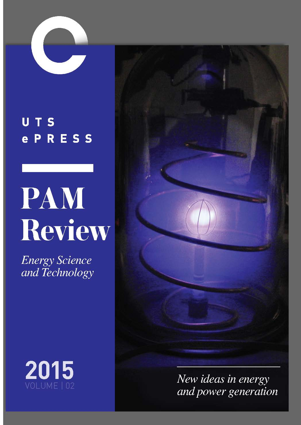 PAM Review 2015 Journal Cover - (CC BY SA image)