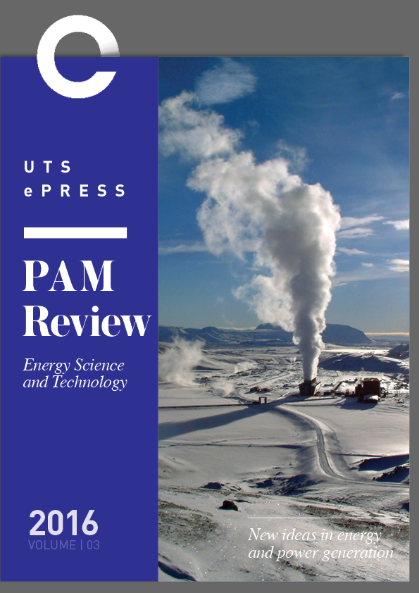 PAM Review - Journal Cover - Vol 3 (2016)