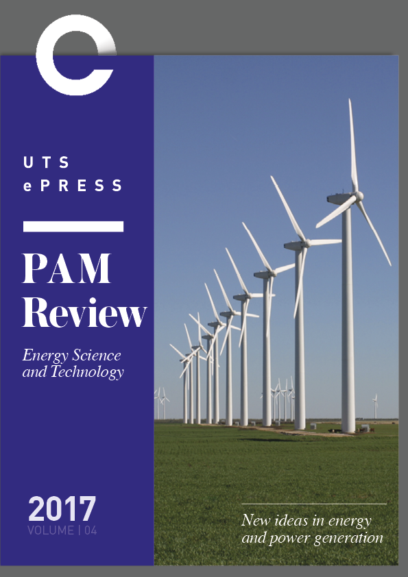 PAM Review Vol. 4 (2017) - Journal Cover