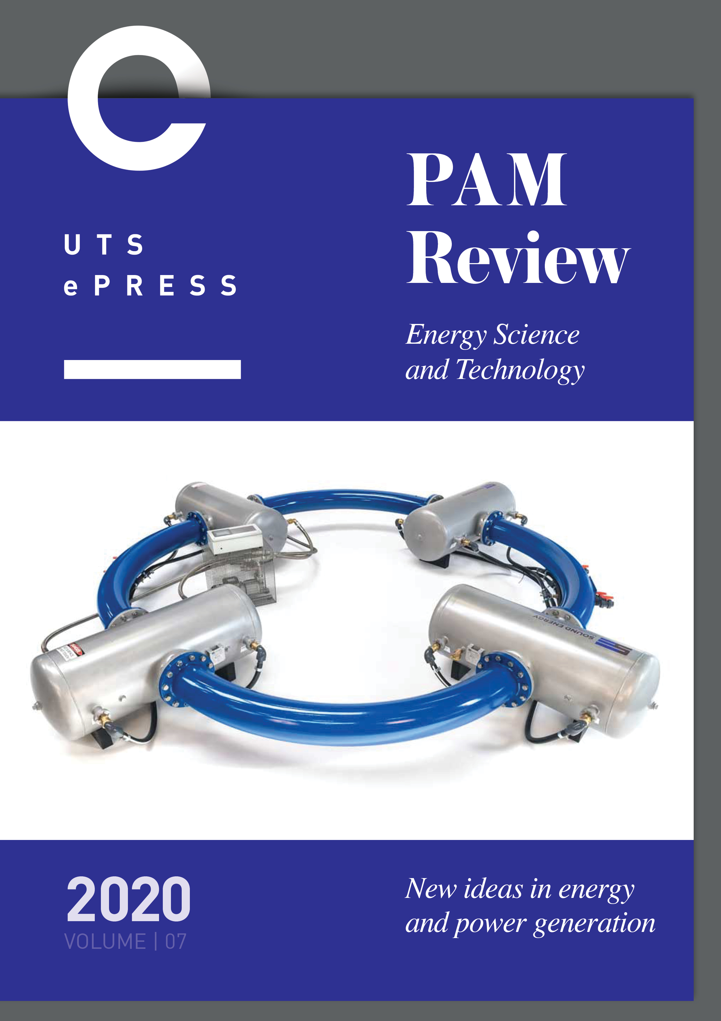PAM Review Volume 7 2020 Cover